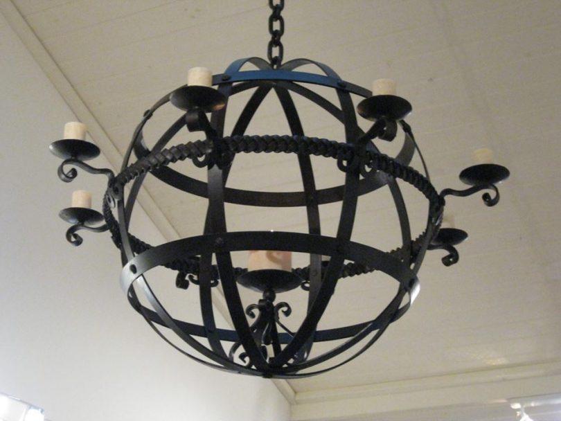Plaited chandelier the world